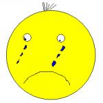 грустный смайлик