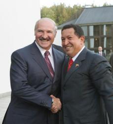 Лукашенко и Уго Чавес