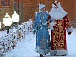 Дед Мороз в Налибокской пуще